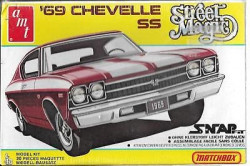 AMT/Matchbox PK-2106 Street Magic 1969 Chevelle SS 1/43