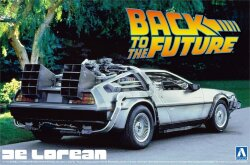 Aoshima 01185 Back to the Future Delorean 1/24