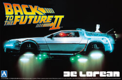 Aoshima 01186 Back to the Future II Delorean 1/24