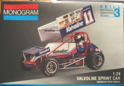 Monogram 2446 Valvoline Sprint Car 1/24