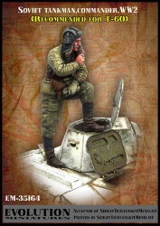 Evolution Miniatures EM-35164 Soviet tankman (commander) WWII 1/35