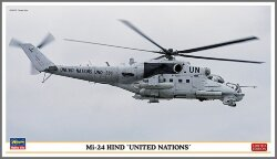 Hasegawa 02192 Mi-24 Hind United Nations Limited Edition 1/72