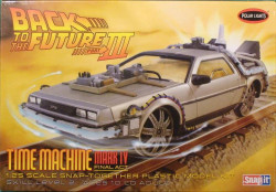 Polar Lights 932 Back to the Future III Final Act Time Machine 1/25