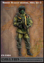 Evolution Miniatures EM-35104 Modern Russian soldiers 2014. Set-3 1/35