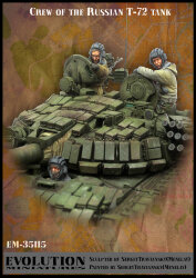 Evolution Miniatures EM-35115 Crew of the Russian T-72 tank 1/35