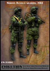 Evolution Miniatures EM-35098 Modern Russian Soldiers. 2014 1/35