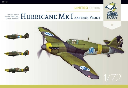 Arma Hobby 70025 Hurricane Mk I Eastern Front - Limited Edition 1/72