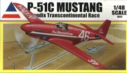Accurate Miniatures 0013 P-51C Mustang Bendix Transcontinental Race 1/48