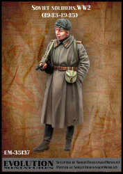 Evolution Miniatures EM-35137 Soviet soldier WW2 (1943 - 1945) 1/35