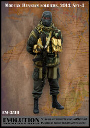 Evolution Miniatures EM-35111 Modern Russian Soldiers 2014. Set-4 1/35