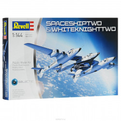 Revell 04842 SpaceShipTwo & White Knight Two 1/144