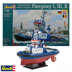 Revell 05213 Hafensclepper Harbour Tug Boat Fairplay I/III/X 1/144