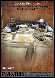 Evolution Miniatures EM-35067 German Stug Crew 1/35
