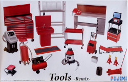 Fujimi 114392 Garage & Tool Series Tools Remix 1/24