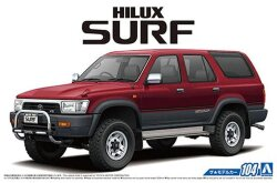 Aoshima 05698 Toyota VZN130G Hilux Surf SSR-X Wide Body '91 1/24