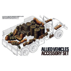 Tamiya 35229 Allied Vechicles Accessory Set 1/35