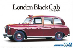 Aoshima 054871 FX-4 London Black Cab 1968 1/24