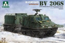 Takom 2083 Articulated Armored Personnel Carrier Bandvagn BV 206S 1/35