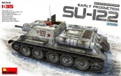 Miniart 35181 Soviet Self-Propelled Gun SU-122 (Early Production) 1/35