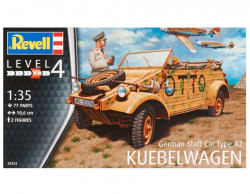 Revell 03253 German Staff Car Type 82 Kübelwagen 1/35