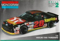 Monogram 2430 Davey Allison Havoline Ford Thunderbird 1/24