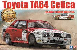 Aoshima 106075 Toyota TA64 Celica `85 Haspengouw Rally Version 1/24