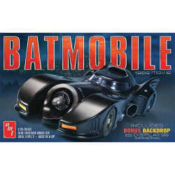 AMT 935 Batmobile Batman 1989 Movie 1/25