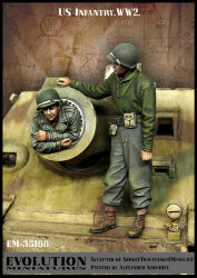 Evolution Miniatures EM-35188 US Infantry WWII 1/35