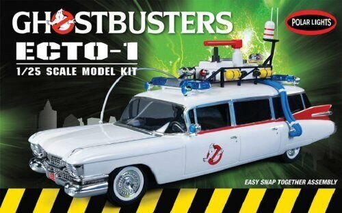 Polar Lights 914 Ghostbusters ECTO-1 1/25