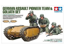 Tamiya 35357 German Assault Pioneer Team & Goliath Set 1/35