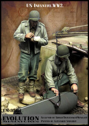 Evolution Miniatures EM-35191 US Infantry WWII 1/35