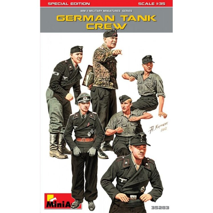MiniArt 35283 German Tank Crew Special Edition 1/35