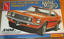 AMT/Matchbox PK-2103 Street Magic 1969 Mustang Mach 1 1/43
