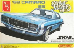 AMT/Matchbox PK-2104 Street Magic 1969 Camaro SS 1/43