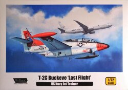 Wolfpack Design WP10011 T-2C Buckeye 'Last Flight' 1/72